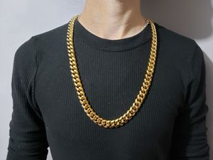 30 inch 14k Gold Plated Cuban Link Chain for Sale in Lancaster, TX