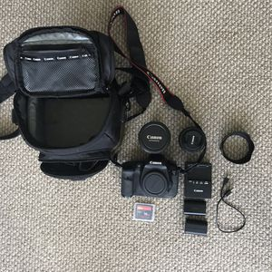Canon EOS 7D 18.0MP w/ 28-135mm lens + 50mm 1.8 for Sale in Miami Beach, FL