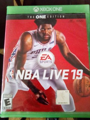 NBA LIVE 19 Perfect Condition for Sale in Apple Valley, CA