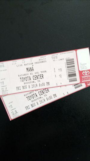 Tickets Maná Nov. 8 for Sale in Houston, TX