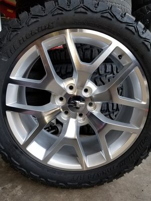 "22's Brand New ""Snow Flakes (Reps) w/New Mud Tires 33's for Sale in Douglasville, GA"
