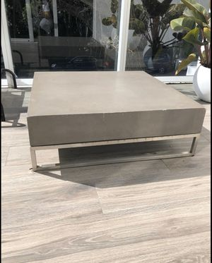 Concrete coffee table for Sale in Miami Shores, FL