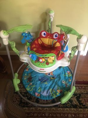 Fisher price rainforest jumperoo for Sale in Sterling, VA