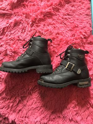 Milwaukee black leather women's size 8 riding boots for Sale in Taylor, MI