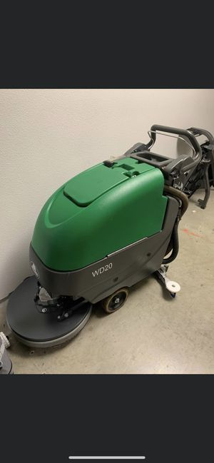 Factory Cleaning equipment Bulldog WD20 floor scrubber for Sale in Norco, CA