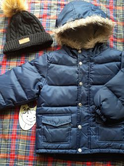 Boy jacket and hat size 3T. 😊 for Sale in Everett,  WA