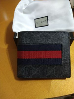 Gucci men's wallet. for Sale in Suisun City, CA