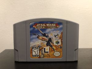 Nintendo64 Star Wars rogue squadron game for Sale in Phoenix, AZ