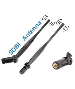 2X WiFi Antenna 9dbi 2.4ghz 5ghz 5.8ghz Dual Band rp SMA Universal Connector for Router, pc Desktop, USB Adapter, pcie Cards, IP Camera, Drone and ps4 for Sale in Ontario,  CA
