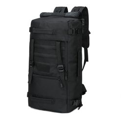 Black Tactical Backpack 60L Converts From Duffel Bag for Sale in Happy Valley,  OR