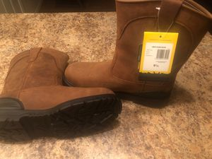 New Never Worn Steel Toed Work Boots for Sale in Avondale, AZ