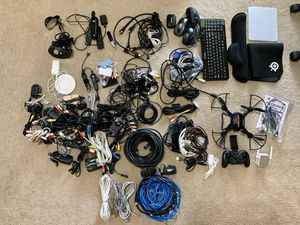 Random Technology Stuff: drone, Ethernet, Power Adapters, mouse, etc. for Sale in Houston, TX