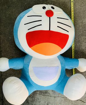 Giant Stuffed Doraemon Cat plush for Sale in Avocado Heights, CA