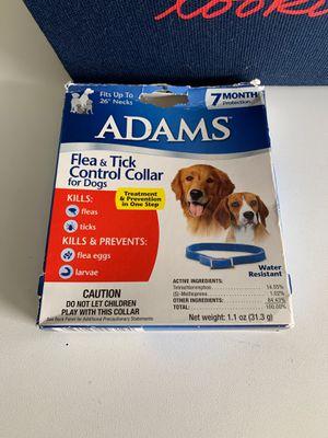 Dog flea & tick collar for Sale in Fresno, CA