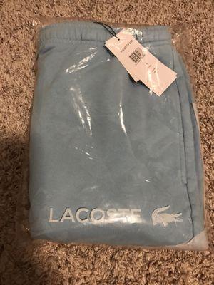 Supreme x Lacoste Sweatshort Light Blue Large for Sale in Richmond, TX