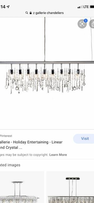 ZGallerie chandelier for Sale in Fontana, CA