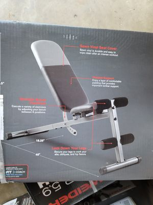 Adjustable Weight Bench for Sale in Anaheim, CA