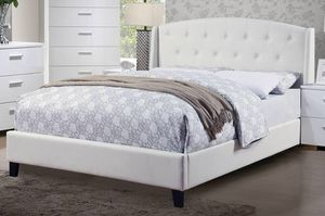 Queen bed frame with mattress included for Sale in Paramount, CA