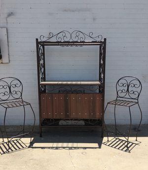 iron wine rack/bar for Sale in Glendale, AZ