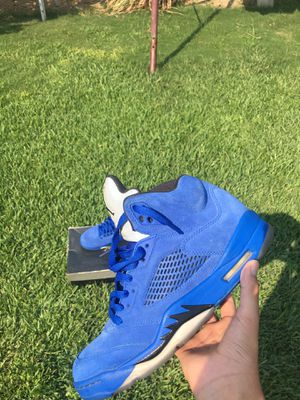 Jordan 5 Blue Suede for Sale in Selma, CA