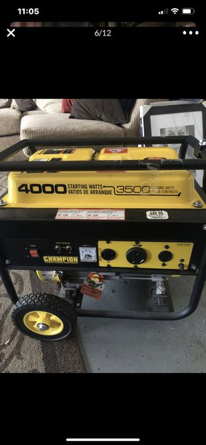 Generator Brand New never used! for Sale in Phoenix, AZ