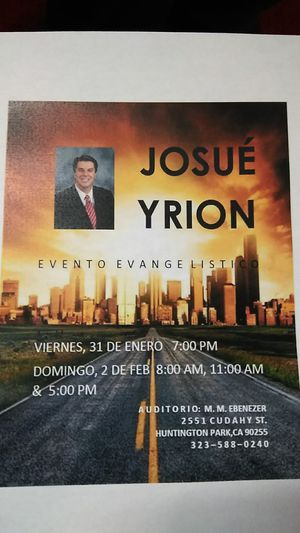 Josué Yrion for Sale in Los Angeles, CA