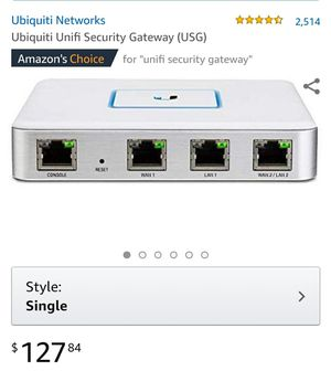 Unifi USG for Sale in Oswego, IL