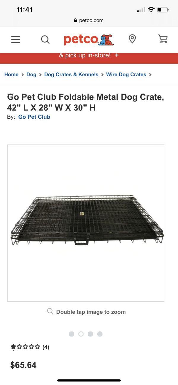 Metal Dog crate