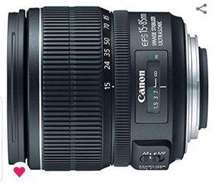 Canon Digital SLR Lens for Sale in Jacksonville, NC