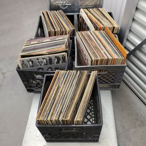 5 Crates Of Assorted Vinyl for Sale in Seattle, WA