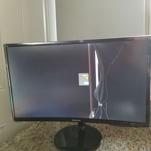 "For Parts/Repair - LCD broken Samsung C24F390FHN Essential Curved Monitor 24"" - Windows 10 Compatible - Original AC/DC Adapter 25W/14V A2514_MPNL for Sale in Chicago, IL"