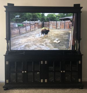 Tv entertainment center for Sale in Lathrop, CA