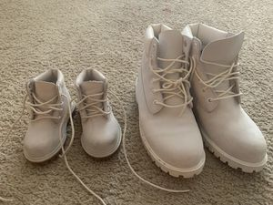 Timberlands white! for Sale in Brandon, FL
