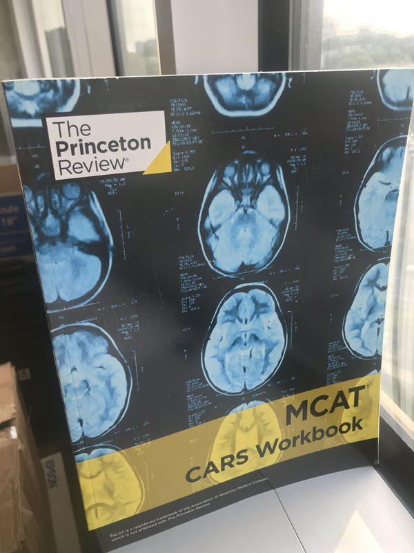 MCAT Set ***BONUS*** SCIENCE WORKBOOK CARS WORKBOOK SCIENCE REVIEW QUESTIONS AND SOLUTIONS