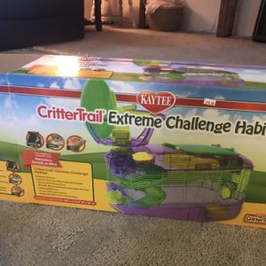 New critter tail hamster cage for Sale in Elma, WA