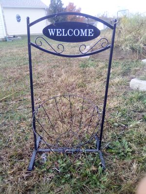 Welcome plant stand for Sale in Imperial, MO