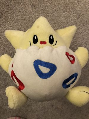 Togepi Pokémon plushie for Sale in Los Angeles, CA