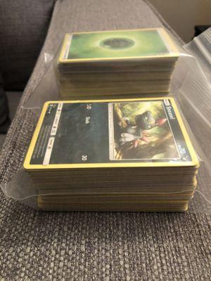 100 + Basic Pokemon Cards for Sale in Wayne, MI