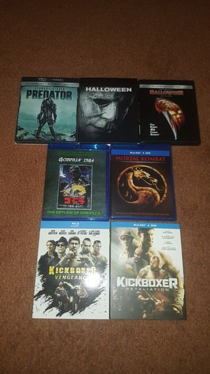 Blu-ray movies , excellent, all $20 for Sale in Fairfield, CA