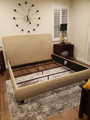 Eastern King Bed Frame for Sale in Fairfield, CA