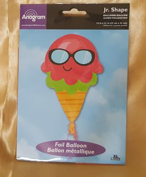 Jr. Ice-Cream Shape Balloon for Sale in Patterson, CA