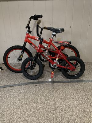 2 kids bikes. 12' and 16' for Sale in Walpole, MA