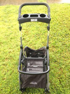 Graco SnugRider Elite Infant Car Seat Frame Stroller for Sale in Kaneohe, HI