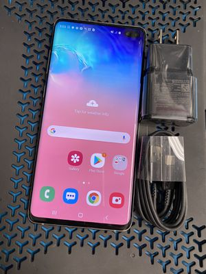 Samsung galaxy s10 plus 128 gb unlocked, sold with store warranty for Sale in Boston, MA