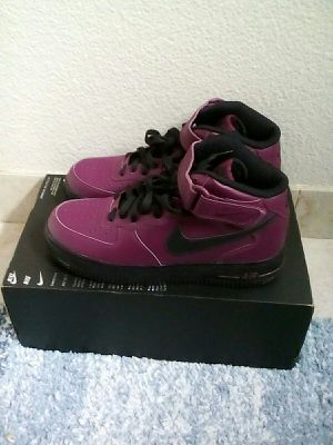 Nike Air Force 1 Mid purple and black size 8.5 men for Sale in Oakland, CA