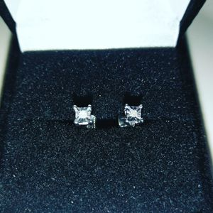 Iced Out Raw Cut Baby Diamond Earrings for Sale in Tampa, FL