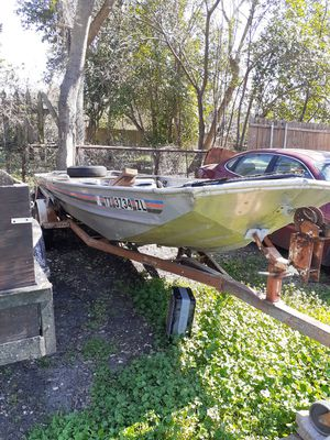 1980 14' Aluminum Bass Tracker Boat for Sale in Waxahachie, TX