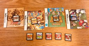 Nintendo DS bundle video games DSi DS XL Mario Zelda Animal crossing Nintendogs Switch GameCube Wii for Sale in Greenville, SC