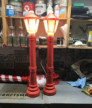 Blow mold lanterns for Sale in Tinley Park, IL