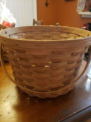 Longaberger baskets for Sale in Zephyrhills, FL